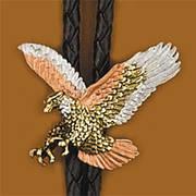 Галстук боло Tri-color Eagle Bolo Tie