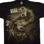 Футболка для байкеров Bulldog Rider