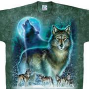 Футболка с волком Wolf Moon
