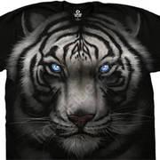 Футболка с тигром Majestic White Tiger