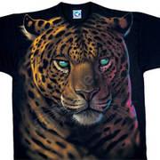 Футболка с леопардом Jaguar