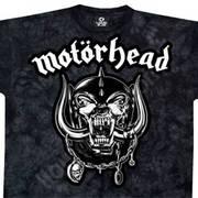 Футболка с эмблеммой рок группы Motorhead и коротким рукавом Motorhead