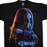 Футболка с эмблеммой рок певца Ozzy Osbourne и коротким рукавом Miracle Man