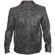 Рубашка Vintage Leather Shirt