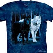 Black & White Wolves