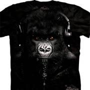 Футболка с обезьяной DJ Caesar