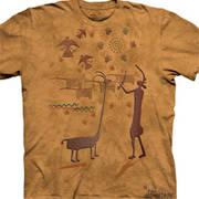 Этническая футболка с коротким рукавом Harmony