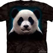 Футболка с медведем Panda Head