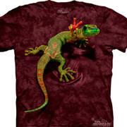 Футболка с картинкой рептилии/амфибии Gecko Детская
