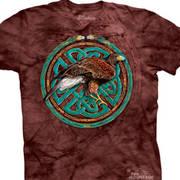 Этническая футболка Tribal Hawk