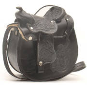 Сумка Leather Saddle Black