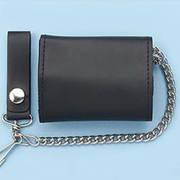 Кошелек / бумажник Leather Wallet Plain