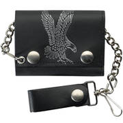 Leather Wallet Flying Eagle