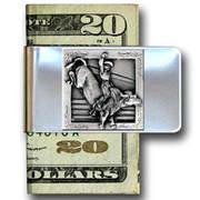 Зажим для денег Наездник