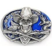 Ременная пряжка Cowboy Skull Belt Buckle
