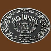 Ременная пряжка Jack Daniels No. 7 Oval