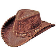 Кожаная шляпа Australian
