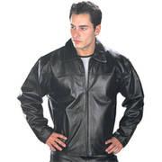 Классическая куртка Black Leather Jacket