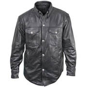 Xelement Leather Shirt