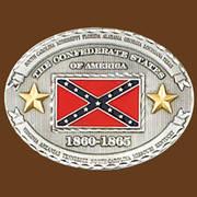 Ременная пряжка Confederate States