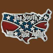 Ременная пряжка South Will Rise Again
