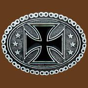 Ременная пряжка Maltese Cross with Chain