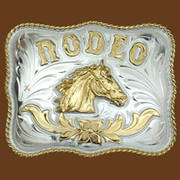 Ременная пряжка Rodeo German Silver