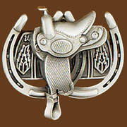 Ременная пряжка Saddle Horseshoes