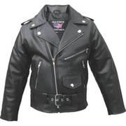 Кожаная мотокуртка Детская Motorcycle Jacket
