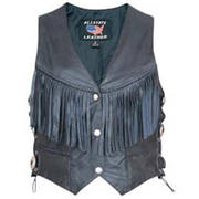 Ladies Vest With Fringe