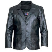 Mens Three Button Blazer