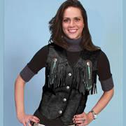 Кожаный жилет Women's Vest Bahram