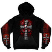 Celtic Cross Hooded