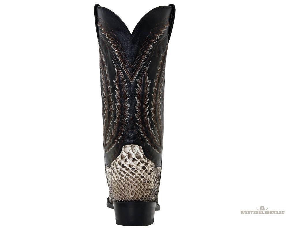 Dan Post Genuine Python Leather Omaha Mens Natural - Высокие мужские сапоги Dan...  США.