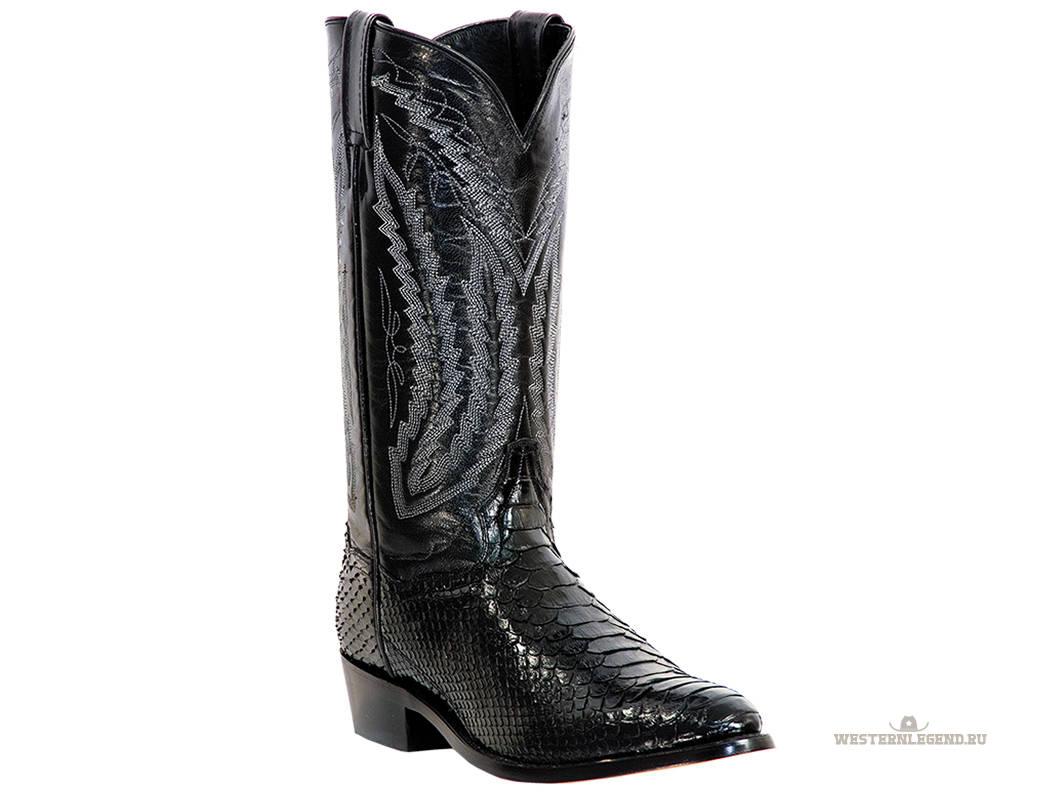 Omaha Black Python Foot.