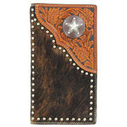 Star Hair Leather Wallet