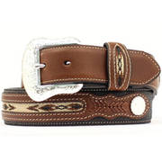 Fabric Leather Belt
