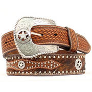 Hair Star Leather Belt