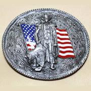 Cowboy US Flag