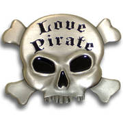 Love Pirate Buckle