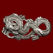 Подвеска Dragon Pendant Silver Plate
