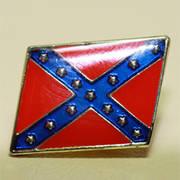 Значок Rebel Flag Badge