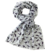 Шарф Scarf With Crane